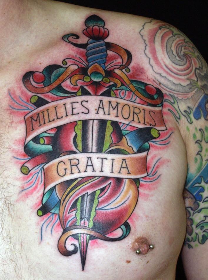 Millies Amoris Gratia Tattoo