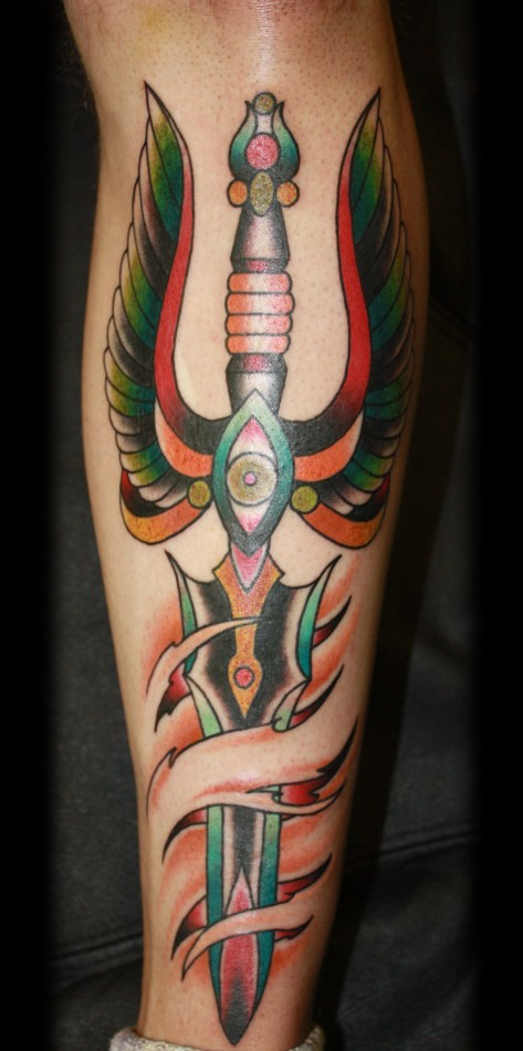 Dagger Tattoo